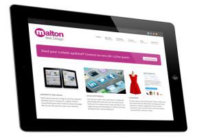 Malton Web Design iPad Compressed